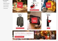 Natale: tanti doni ma poco cari, un italiano su tre userà cellulare