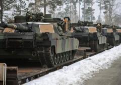 Usa mandano altri carrarmati al confine con l'Ucraina