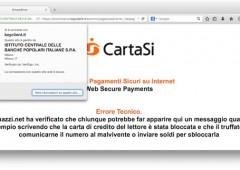 Chi utilizza questa carta di credito online rischia di essere truffato