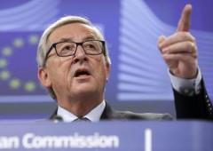 """Juncker: """"Italia non si lamenti, era da infrazione"""""""