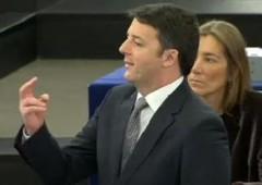 "Renzi: ""resistenze Ue incomprensibili"", contestato a Strasburgo"