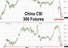 Tonfo alla Borsa di Shanghai -7%, perdita maggiore da febbraio 2007