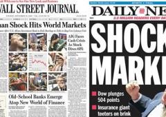 """""""La Grecia è Bear Stearns, l'Italia Lehman Brothers"""""""