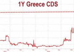 Tsipras arriva in sede governo: senza Internet, elettricità e sapone