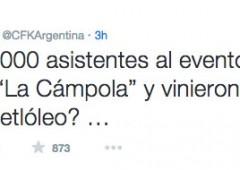 Kirchner: in un tweet deride il presidente Cina per il suo accento
