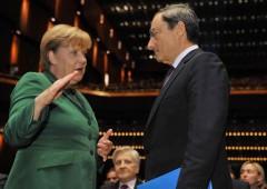 Germania: Zew a record un anno, merito Qe della Bce (che Merkel osteggia)