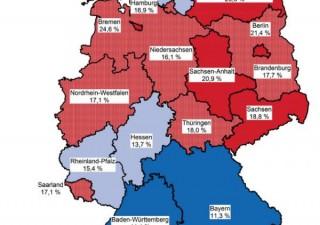 Germania, Ifo in rialzo. Ma nel paese che vuole austerity povertà è a livelli record