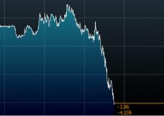 Crollo del petrolio, a New York buca $43, scivola a minimo in 6 anni