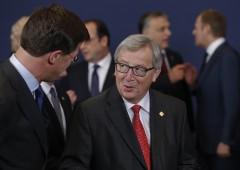 """Juncker: """"e ora un governo unico europeo"""""""
