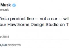 Tesla annuncia nuovo prodotto: ma non sarà un'automobile. Titolo vola