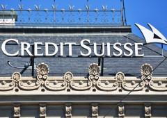 Credit Suisse: utili battono stime, +23% in I trimestre
