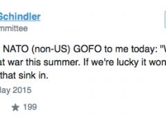 """Funzionario Nato: """"Quest'estate saremo in guerra"""""""