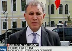 """Roubini: """"soldi a palate"""" per Grecia, controlli capitali si possono evitare"""