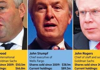 Cade un tabù. Dirigenti Wall Street smobilizzano titoli delle loro banche