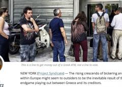 """Referendum: Stiglitz si schiera con i no. """"Europa in guerra contro democrazia greca"""""""