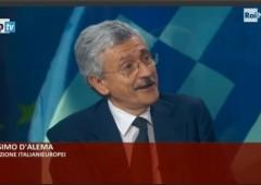 """D'Alema: """"i soldi alla Grecia sono andati a finire a banche tedesche"""""""