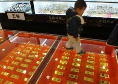 Speculazioni affondano l'oro: sfiora $1.080