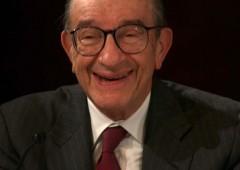 """Greenspan: """"Crisi debito dietro l'angolo, tornare all'oro"""""""