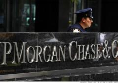 E' JP Morgan la banca più importante per la stabilità finanziaria globale