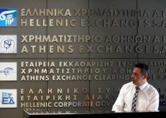 Borsa Atene recupera, bancari -63% in tre sedute