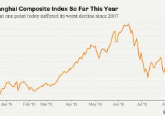 """Cina: banca centrale immobile, Shanghai -8,5%: """"Un disastro, nessuno può fermarlo"""""""