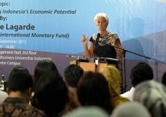 """Lagarde: """"preparatevi a impatto Cina"""". Proteste anti Fmi a Jakarta"""