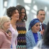 Michelle Obama all'Expo 2015