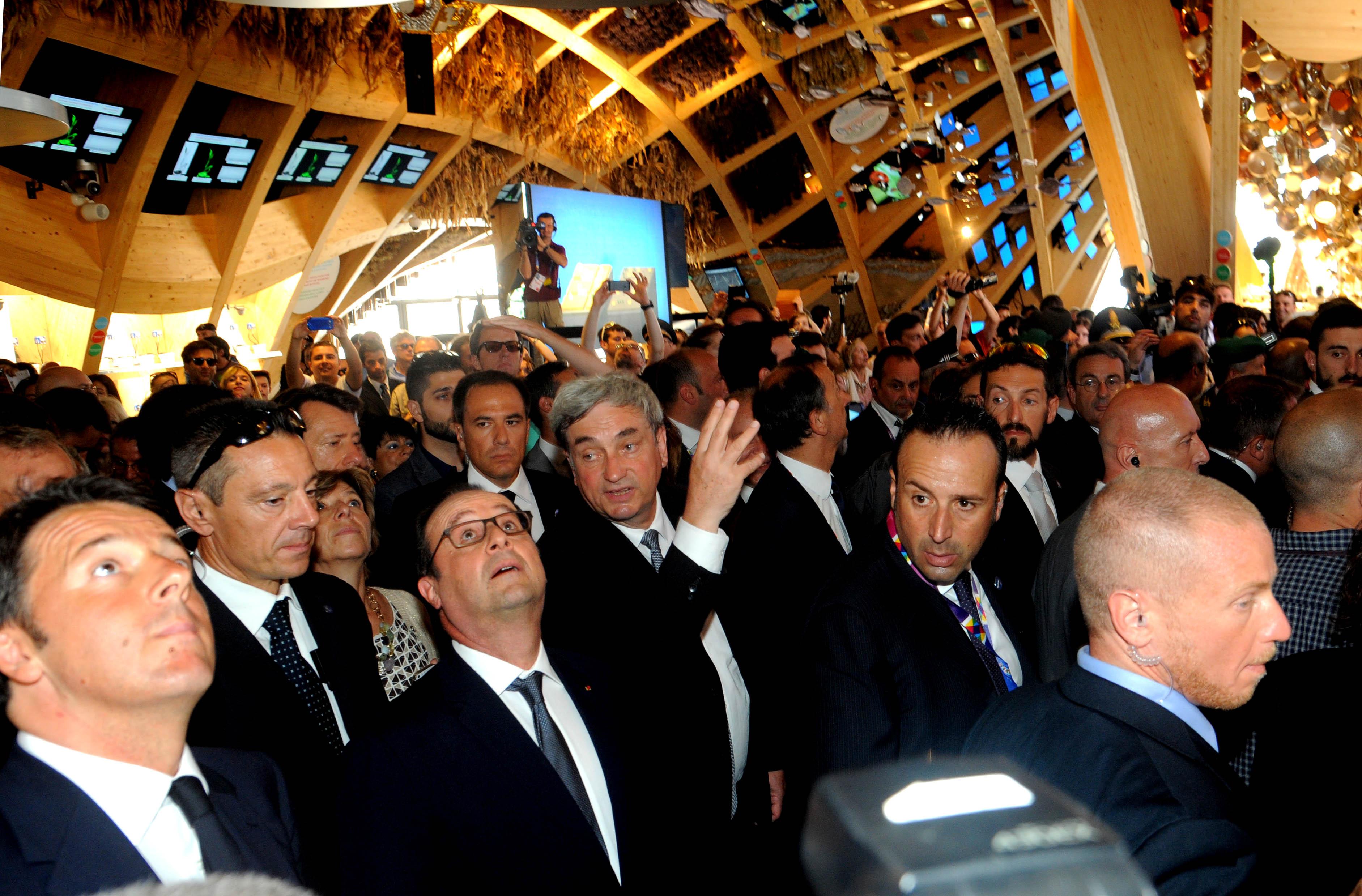Hollande all'Expo