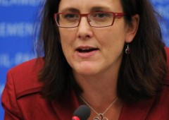 Guerra dei dazi: commissaria Ue Malmstrom a Washington