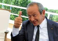 Miliardario Sawiris investe metà della sua fortuna in oro