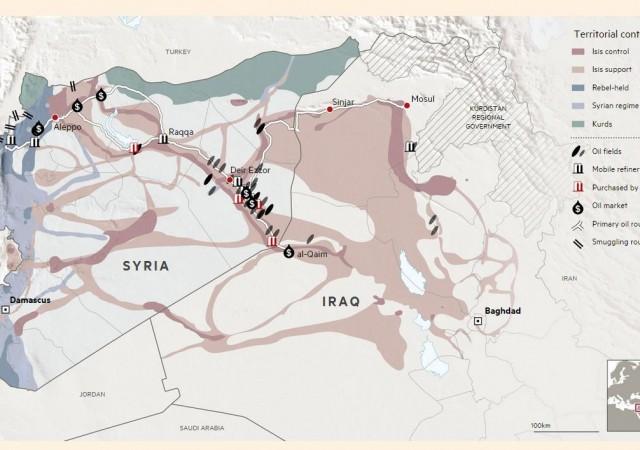 Il legame tra l'Isis e il petrolio