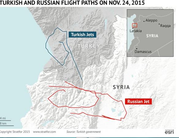 Alta tensione Russia-Turchia
