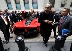"""Marchionne (FCA) promette: """"la prima supercar elettrica sarà Ferrari"""""""