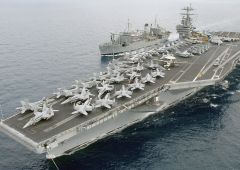 "Da navi iraniane razzi vicino portaerei Truman. Usa: ""inutilmente provocatorio"""