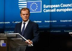 """Tusk: """"Due mesi per salvare Schengen e l'euro"""""""