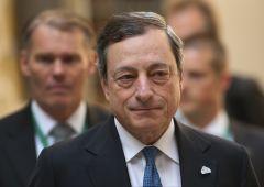 """BCE, Draghi: economia UE è a rischio se """"non si fa nulla"""""""