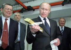 Russia fa incetta di oro in vista delle sanzioni Usa