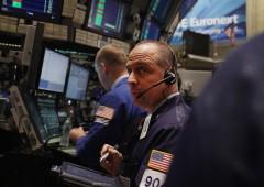 Wall Street in rosso mentre petrolio sale sopra $48