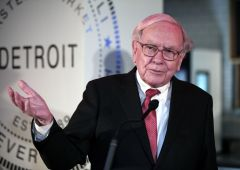 Buffett ha comprato $12 miliardi in Borsa dopo vittoria Trump