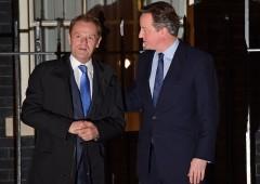 Nessun accordo tra Cameron e Tusk: cresce timore Brexit