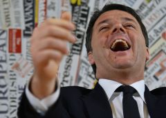 """Renzi: """"tasse e Canone Rai giù"""".  D'Alema? """"E' amore con Berlusconi"""""""