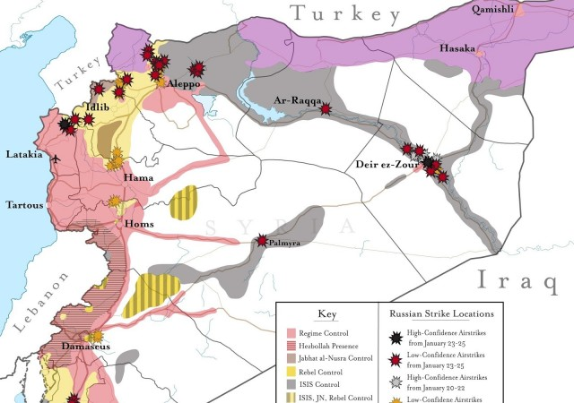 Il caos di un paese frammentato e militarizzato come la Siria