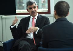 "El-Erian: ""Fmi pessimista, Pil Usa in corsa al 3% per due anni"""