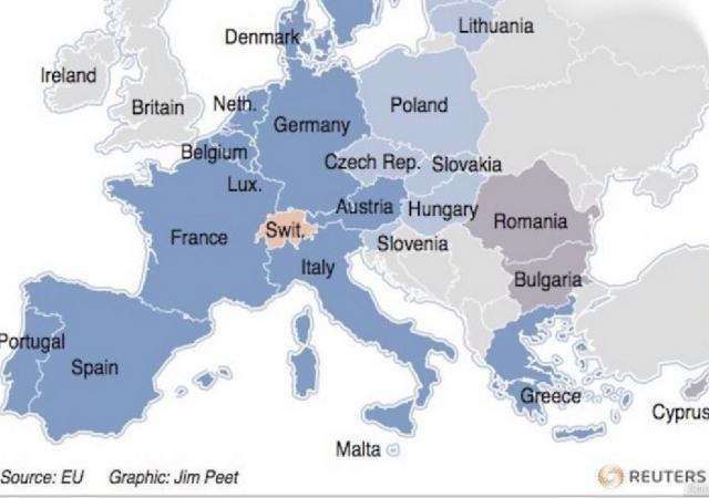 L'area di Schengen