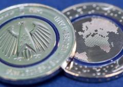 Debutta in Germania moneta da 5 euro