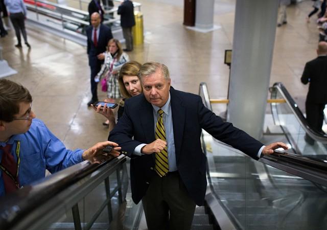 Lindsey Graham, senatore Repubblicano Usa anti Trump ma guerrafondaio