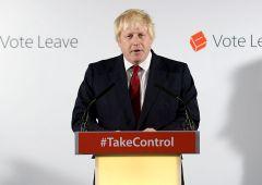 """Boris Johnson: """"Ue è stata idea nobile, ma ora non più giusta"""""""