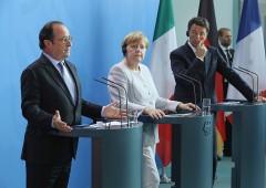 """Renzi polemico contro altri leader Ue. Merkel: """"Ha firmato l'agenda"""""""