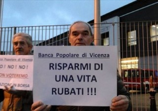 Pop Vicenza: sequestri a 5 imputati tra cui Zonin