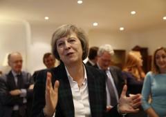 Regno Unito ha la sua premier: Theresa May